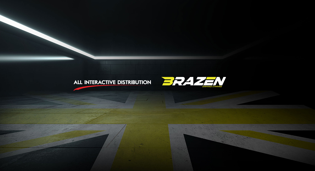 All Interactive Distribution and Brazen Gaming Chairs